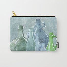 Antique Bottles Carry-All Pouch