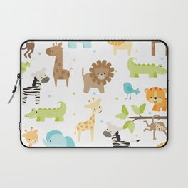 Jungle Animals Laptop Sleeve