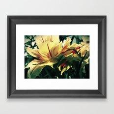 Garden Beauty Framed Art Print