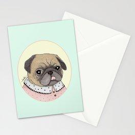 Sra. Pug Stationery Cards