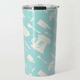 In The Kitchen — Turquoise Travel Mug