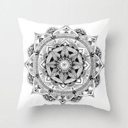 Mandala Constrast Throw Pillow