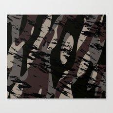Deep Forest Camo Canvas Print