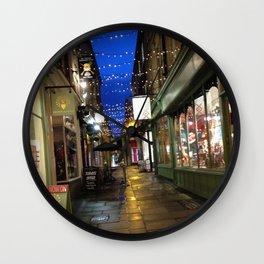 Street In Bath Wall Clock