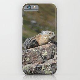 Summit Pika iPhone Case