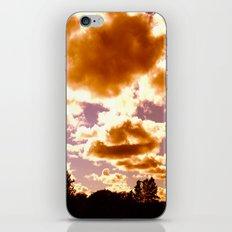 fire puffs iPhone & iPod Skin