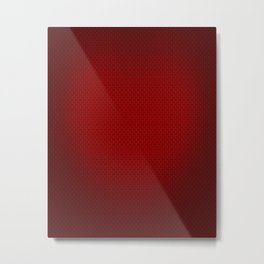 red carbon Metal Print