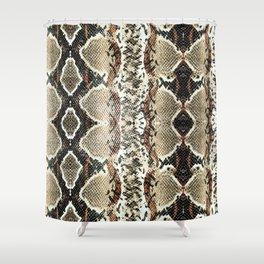 Luxury Snake Print Shower Curtain