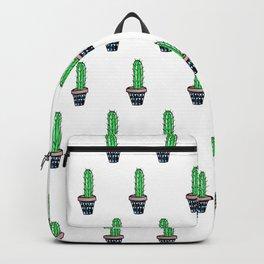 PATTERN II Geometric Cacti Backpack