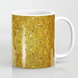 Deep gold glass mosaic Coffee Mug
