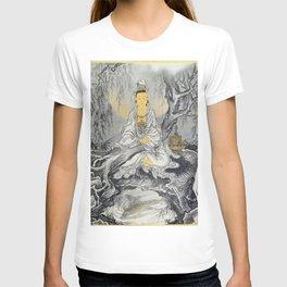 12,000pixel-500dpi - Kawanabe Kyosai - White-robed Kannon - Digital Remastered Edition T-shirt