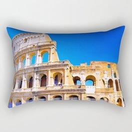 Colosseum in Italy Rectangular Pillow