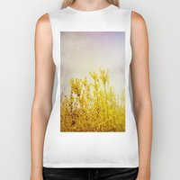 coldplay Biker Tanks featuring And it Was All Yellow by Olivia Joy StClaire
