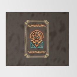 Disney's Polynesian Village - Tiki Throw Blanket