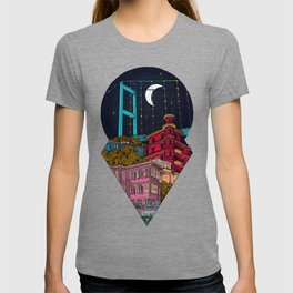 Night carries the lights T-shirt