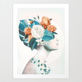 Floral beauty 2a Art Print