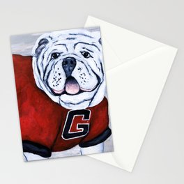 Georgia Bulldog Uga X College Mascot Stationery Cards