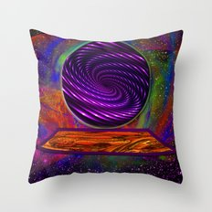 Peek Into The Future Throw Pillow