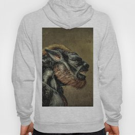 Portrait of a Werewolf Hoody