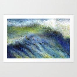 Pacific Wave 1 Art Print