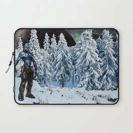 Visitor from Outer Space Laptop Sleeve