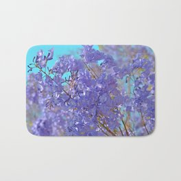 Purple and Blue Party! Bath Mat