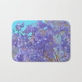 Purple and Blue Party! Bath Mat