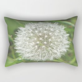Dandelion Seedhead Rectangular Pillow