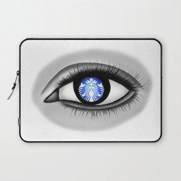 Starbucks Eye Laptop Sleeve