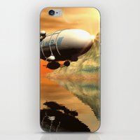 led zeppelin iPhone & iPod Skins featuring Zeppelin by nicky2342