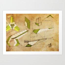 Concept art ez8 Art Print