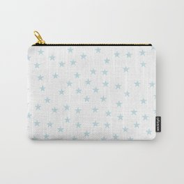Baby blue stars seamless pattern Carry-All Pouch