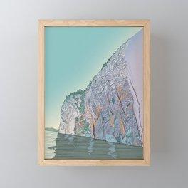 Mazinaw Rock Framed Mini Art Print