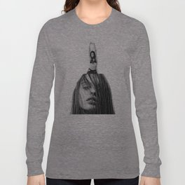 non face Long Sleeve T-shirt