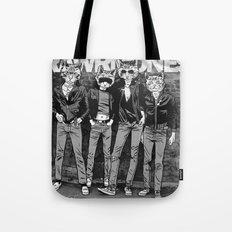 RAWRMONES Tote Bag