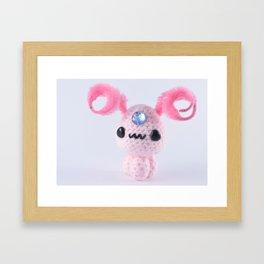 Amigurumi Framed Art Print