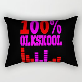 oldskool raver Rectangular Pillow
