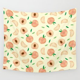 peach Wall Tapestry