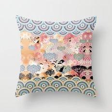 Diaspora 4 Throw Pillow