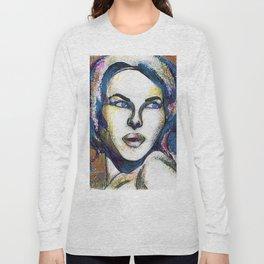 Pop Art Woman Long Sleeve T-shirt