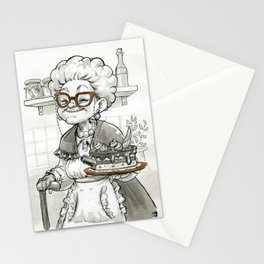 Baking Mafia Grandma Stationery Cards