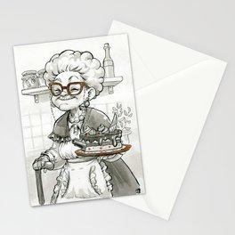 Baking Mafia Grandma Stationery Cards