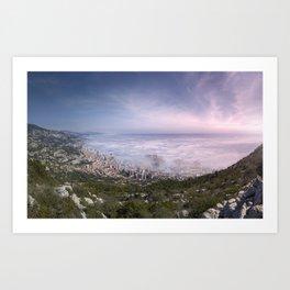 Day Fog Art Print