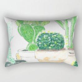 cactus at home Rectangular Pillow