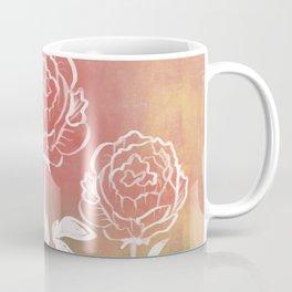 Three Peonies Coffee Mug