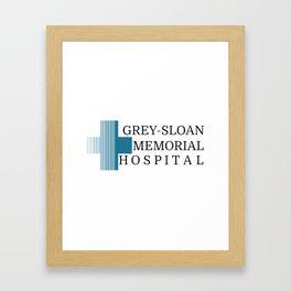 Grey Sloan Memorial Hospital Framed Art Print