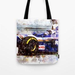 Damon Hill, Close Tote Bag