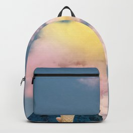 Low fat strawberry ice cream Backpack