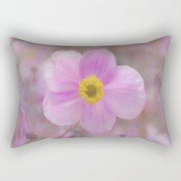 Pink Anemone Rectangular Pillow