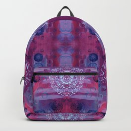 Mirrored Floating Planets Backpack